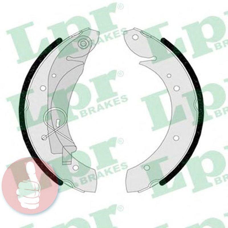 LPR Bremsbackensatz 05080 Hinterachse
