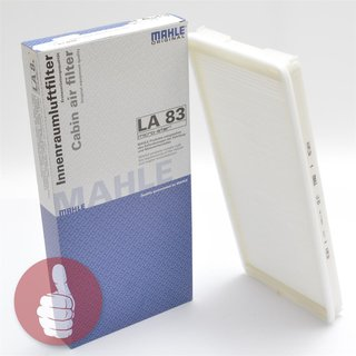 MAHLE ORIGINAL Innenraumfilter Pollenfilter LA 83 Mercedes-Benz