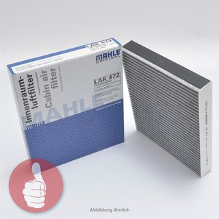 MAHLE ORIGINAL Innenraumfilter Pollenfilter mit Aktivkohle LAK 158 Mazda